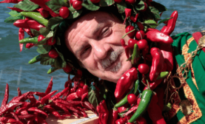 Hot Chili Peppers in Southern Italy- Calabria
